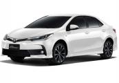 Toyota altis 2019 White