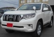Toyota land_cruiser_prado 2018 Pearl White