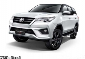 Toyota fortuner 2019 White Pearl