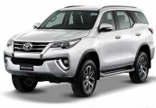 Toyota fortuner 2018 Silver