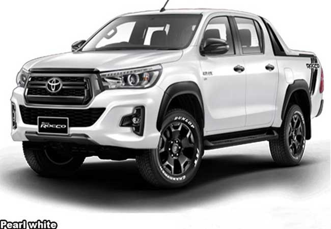 Toyota Hilux Revo Rocco Pickup Trucks 2018 Model In Pearl