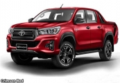 Toyota hilux revo rocco Pickup Trucks 2019 model in Red ...