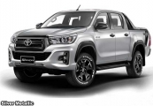 Right Hand Drive Jeep >> Toyota hilux revo rocco Pickup Trucks 2019 model in Red | Stock 60552 | CSO Japan