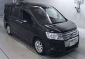 honda step_wagon 2012 Black