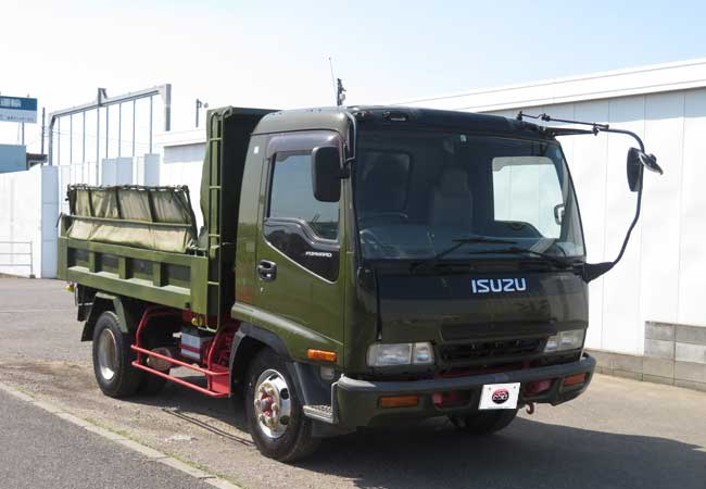 isuzu forward 2005 Dark Blue