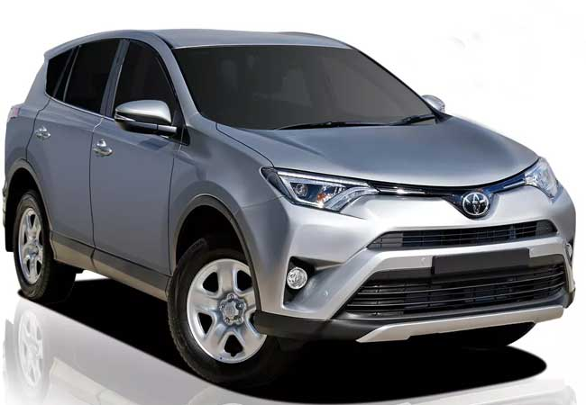 Toyota rav4 2019 Silver