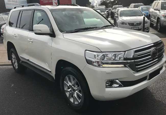 Toyota land_cruiser 2018 Pearl