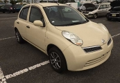 nissan march 2009 Beige