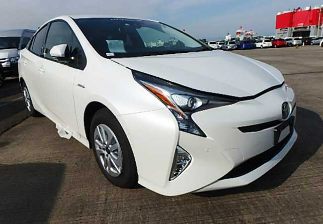 Toyota prius 2018 Pearl