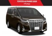 Toyota alphard 2020 Graphite Metallic