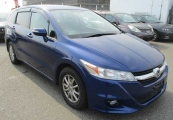 honda stream 2010 Blue