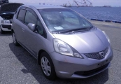 honda fit_jazz 2010 Gray