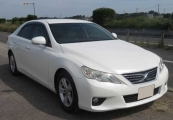 toyota mark_x 2010 White