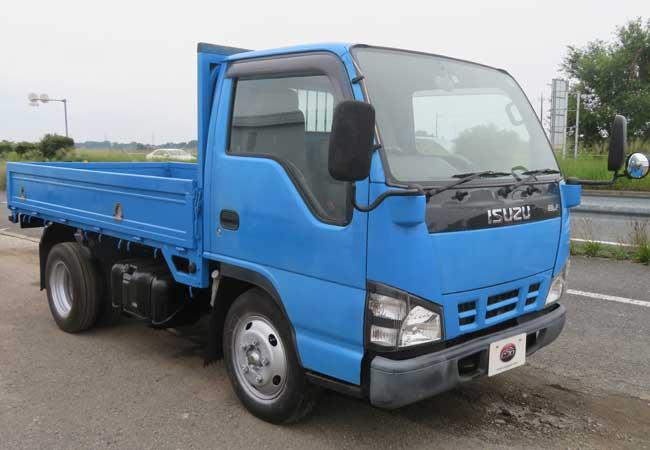 isuzu elf 2006 Blue