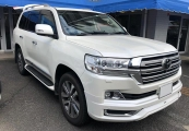 Toyota land_cruiser 2017 White