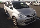 Toyota passo 2014 Silver