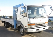 mitsubishi fuso_fighter 1996 White