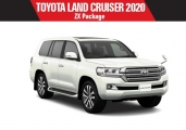 Toyota land_cruiser 2020 White