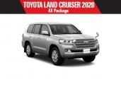 Toyota land_cruiser 2020 Silver Metallic