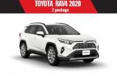 Toyota rav4 2020 White Pearl Crysta