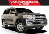 Toyota land_cruiser 2020 Gray