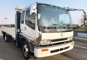 Isuzu forward 1994 White