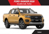Ford ranger 2020 Yellow