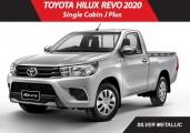 Toyota hilux_revo 2020 Silver Metallic