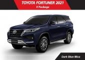 Toyota fortuner 2021 Dark Blue