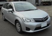 Toyota corolla_fielder 2014 Silver Metallic