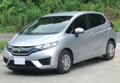 Honda fit 2015 Silver